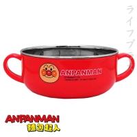 (一品川流)Bread Superman - Children's Double Handle Bowl (Small) - 300ml - Red