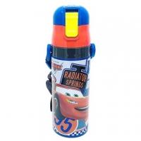 (skater)Japan Cars Lightning Makkun 95 Cold Cover Special Bottle-Drinking Ultra Lightweight Stainless Steel Kettle 470ml (4461)
