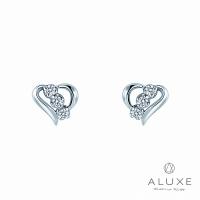 (A-LUXE)A Diamond The Heart Diamond Heart Earrings