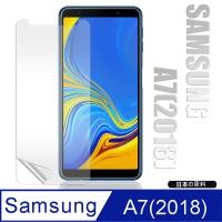 Monia Samsung Galaxy A7 (2018) through high surface wear protector bright