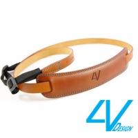 4V CLASSIC MEDIUM Series Camera Strap CL-VV2330-BM- brown / blue (M)