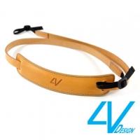 4V CLASSIC MEDIUM Series Camera Strap CL-VV2530-BM- natural / green (M)
