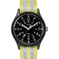 (TIMEX)TIMEX Tianmei MK1 trend military watch (black face / silver yellow stripe TXTW2R81000)