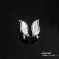 (Luperla)[Dadongshan Jewelry] French taste men's series will be gentleman sterling silver cufflinks leaf shape