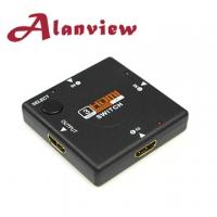 (Alanview)HDMI three into a switch