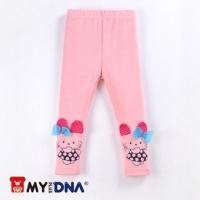 (MYDNA)[MY + DNA Bear headquarters] butterfly kitten inside Leggings - pink (H3682-10)
