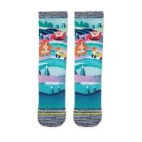 (AREXSPORT)AREXSPORT coffee yarn 3D technology function socks -Happy Christmas