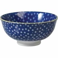 (Rex LONDON)Rex LONDON porcelain bowl (small flower blue 12cm)