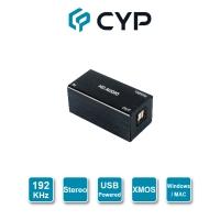 CYP-Professional 192KHz High Quality USB to Optical (Optical) Conversion Box CDB-6