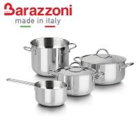 (BARAZZONI)[Italy BARAZZONI Barazzoni] 6-piece stainless steel cookware set 28390601