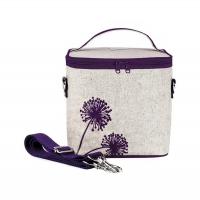 (SoYoung)Large Insulation Bag - Purple Dandelion
