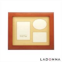 (LADONNA)Japan LADONNA AVANTI plain curved 8x10 photo frame DF01-06-BR