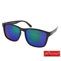(docomo)[Docomo Fashion Glamour] Aesthetic Sunglasses Textured Black Frame with High-grade Blue Film Lens Star Style Anti-UV400
