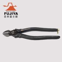 (FUJIYA)[FUJIYA] Powerful Diagonal Pliers-Eccentric European Style 200mm (Black Gold)-700N-200BG