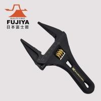 (Fujiya)[FUJIYA] Large opening of movable wrench 53mm (short version of black gold)
