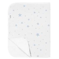 (Kushies)Canada kushies cotton waterproof pad - pink blue star 51 x 76 cm