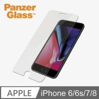 PanzerGlass 耐衝擊高透鋼化玻璃保護貼(iPhone 6/6s/7 通用型)