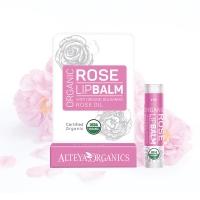 (Alteya Organics)Paulao Ou Tu Liang Rose Lip Balm (5g)