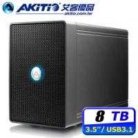 (AKiTiO)AKiTiO armored Veyron U31C 8TB USB3.1 2Bay 3.5-inch external hard disk array