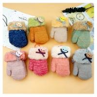 Kawaii children's autumn and winter warm gloves