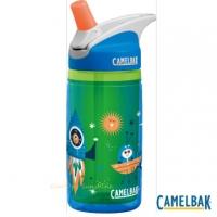 (CAMELBAK)【US CamelBak】 CB1305403040- 400ml children's straw double insulation sports bottle space exploration