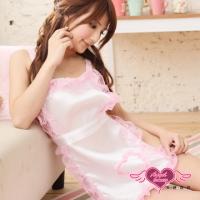 (天使霓裳)【Angel Seduction】 Sweet Trap ‧ Lace Roller Maid Servant Dress Two Pack (White)