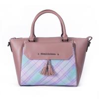 (Kinloch Anderson)[Gold Anderson] fog color Paris fringe shape 2way tote bag - pink (KA180001PKF)