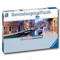 [Germany Ravensburg Jigsaw]Venice Night Evening in Venice - Panorama Jigsaw - 2000 Tablets
