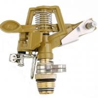 1/2 inch zinc alloy outer teeth (adjustable 360 degree rotation) metallic showerhead 40