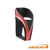 IBERA anti-scratch velvet red bottle cage IB-BC20