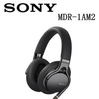 (SONY)SONY MDR-1AM2 High-Quality, Lightweight Headphones - Black