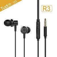 (Tuddrom)Tuddrom Devil R3 low distortion dynamic metallic in-ear headphones (black)