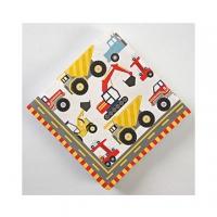 (美國MERI MERI)US MERI MERI [Large Machinery car series] party napkins 45-0308
