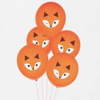 (法國My Little Day)France My Little Day little fox party balloons into the group