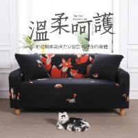 Beaver path elastic sofa cover double seat