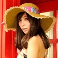 (Aimee Toff)Aimee Toff totem ribbon dazzling sun hat (coffee)