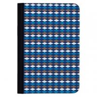(Ozaki)Ozaki O! Coat Pattern iPad mini Geometry Case - Blue Black Quilted