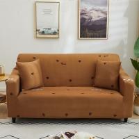 Childlike elastic sofa cover for four seats
