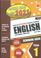 (PUSTAKA VISION)TOPIKAL BIJAK EDISI 2021 ENGLISH CEFR YEAR 1 SEMAKAN KSSR 2020