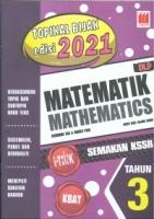(PUSTAKA VISION)TOPIKAL BIJAK EDISI 2021 MATEMATIK/MATHEMATICS(DLP)TAHUN 3 SEMAKAN KSSR 2020