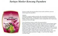 Sariayu Masker Kencang Payudara (Breast Mask) 14gr (2 x 7gr )
