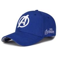 Movie Baseball Outdoor Cap Blue Silver