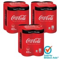 [BUNDLE 12] Coca-Cola Tanpa Kalori 320ml x 4 x 3