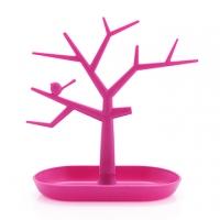 Magic tree modeling jewelry rack storage tray - berry powder
