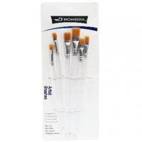 (益展-文具)6 into transparent bar watercolor pen (flat head)