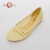 (Alice's Rose )Alice's Rose plain weave elegant doll shoes (light yellow)