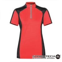 [Canada] STORMTECH IPZ-1W high performance suction sunscreen 1/4 reflective zipper collar shirt - Female - red