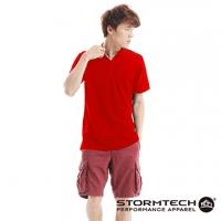 [Canada] STORMTECH MCP-1 cotton mesh very comfortable anti-UV-POLO- male (red)