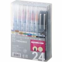[Kuretake Kuretake, Japan] RBCN160-5 Kuretake Painted Brush + Stylus Pen Set of 24