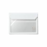 [5360 FLATTY] KING JIM white multipurpose storage bag (A6)